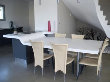 metrasud : menuiserie bois, agencement, menuiserie intérieure ... - Table De Cuisine Sur Mesure