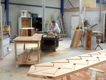 Pin escalier bois exotique 1 on pinterest for Fabricant escalier bois